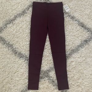 Nordstrom BP red burgundy leggings